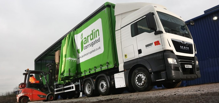 Bibby Distribution Turns Up The Volume To Win Jardin Corrugated Contract.