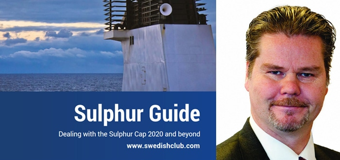 The Swedish Club Delivers Expert Advice On Dealing With The Sulphur Cap 2020.