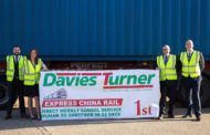 Davies Turner's Express China Rail Service Breaks Records.