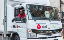 DPD Driver Relishes His Zero-Emission FUSO eCanter's 'Sounds Of Silence'.