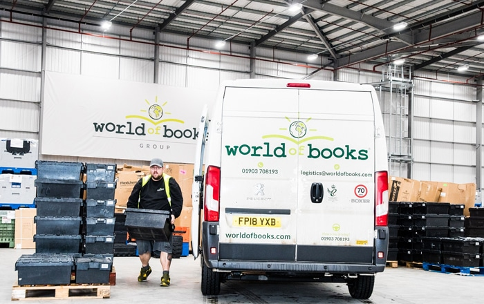 World Of Books Targets Mileage, Time And Cost Savings With Paragon's Multi-Drop Routing Software.