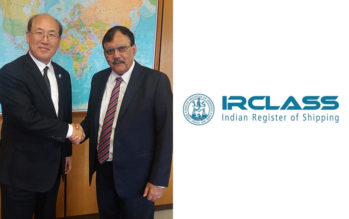 Mr. Arun Sharma, Executive Chairman, IRClass Meets With IMO Secretary General.