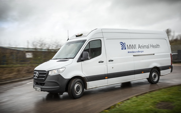 Veterinary Pharmaceuticals Leader 'Keeps Its Cool' With First Refrigerated Mercedes-Benz Sprinters.