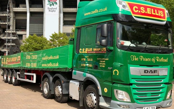 C.S. Ellis Group Sees Benefits From New Tyre Pressure Management System Within Days Of Fitting.