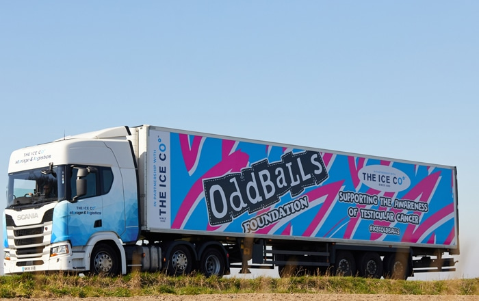 #IceColdBalls Hits The Road For Testicular Cancer Awareness Month.