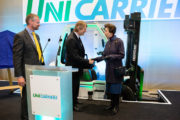 HRH The Princess Royal Honours Transaid Key Corporate Partner UniCarriers During Visit.