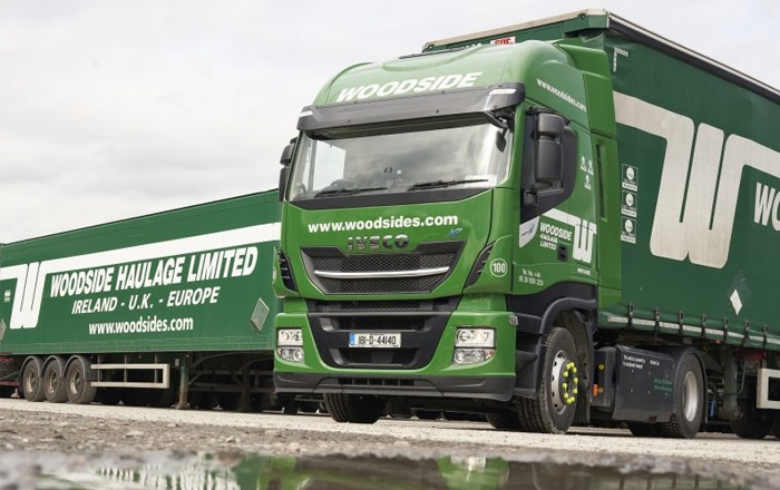 Woodside Haulage Hits The Gas With Stralis NP.