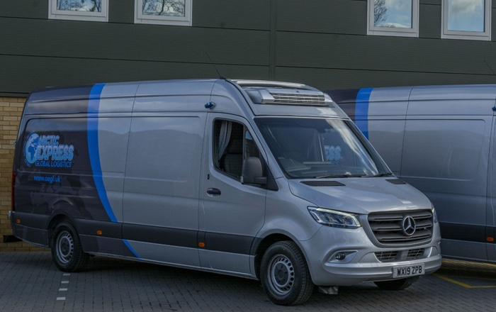Exclusive MC Rental Express Delivery Service For Arctic Express.