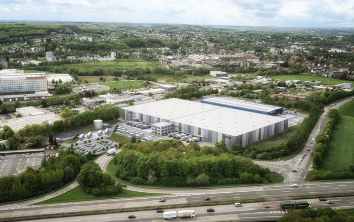 Garbe Industrial Real Estate GmbH Expands Logistics Location In Witten.