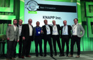 KNAPP Wins MHI Innovation Award For redPILOT Software.