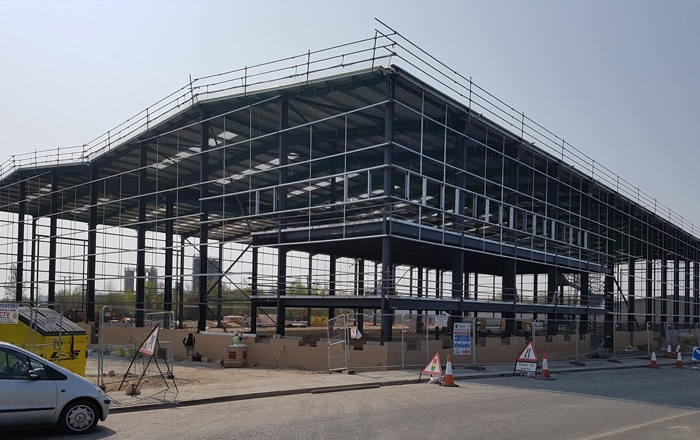 Onward's New Warehouse In Advanced Stage Of Construction.