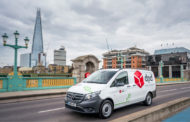 DPD Leads The Charge With UK's First All-Electric Mercedes-Benz eVito Vans.
