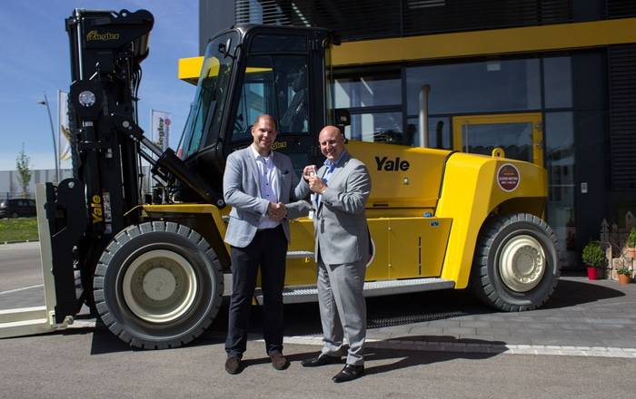 Yale Dealers Boost Rental Fleets With Highest Capacity Truck To Date.