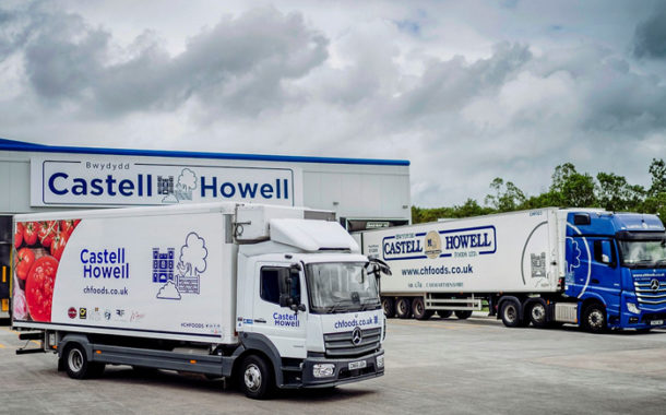 Castell Howell Foods Banks On 16 Tried And Trusted Mercedes-Benz Atego Rigids.