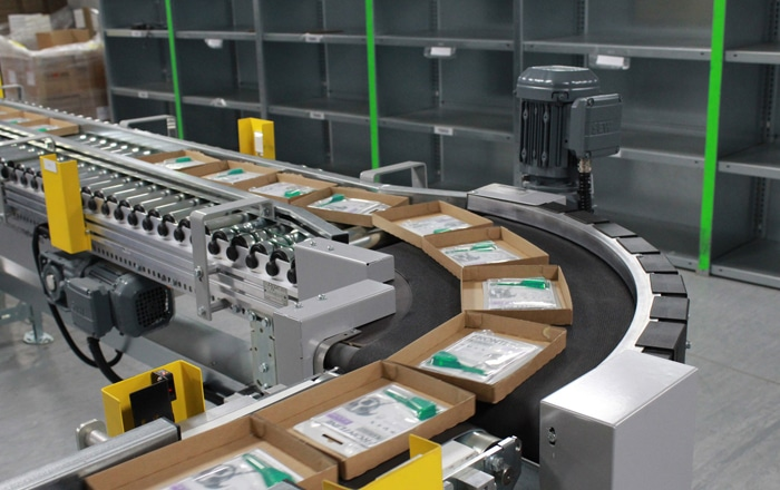 Conveyor Networks Delivers 300% Increase In Throughput For Pets At Home With Picking And Packing Automation.