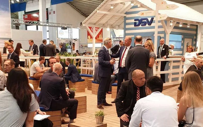 DSV Gave Customers And Visitors A Taste Of Denmark At Transport Logistics Fair In Munich.