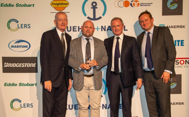 DSV Win Road Freight Operator Of The Year Award At Multimodal 2019.