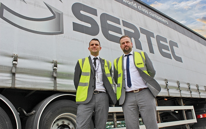 AMCO Group Secure Sertec Group Logistics And Transport Contract.