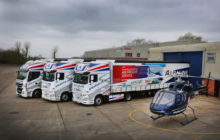Schmitz Cargobull's Smart Curtainsiders Help Alcaline's New Delivery Service Take Off.