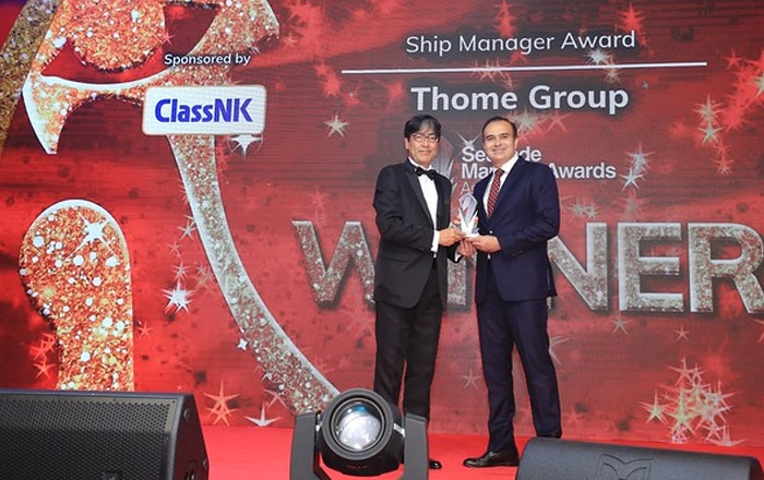 Thome Group Wins Ship Manager of The Year Award.