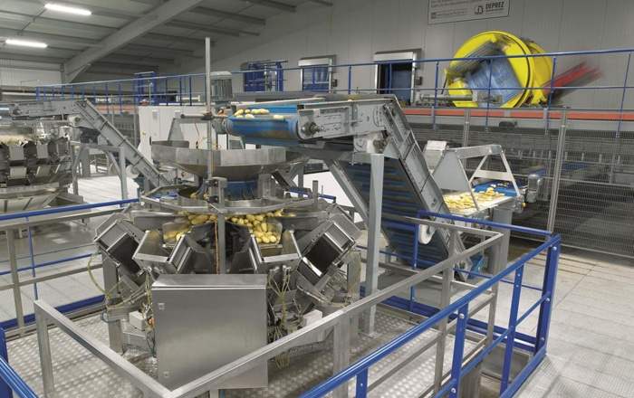 Potatoes 'Go' Fully Automated Thanks To Europe's Largest Plastic Pallet Box.