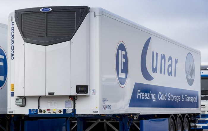Lunar Freezing Lands Scotland's First Carrier Transicold Vector® HE 19 MT Unit.
