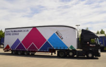 Pall-Ex Delivers A Mountain Range Of Pallets For Tile Mountain.