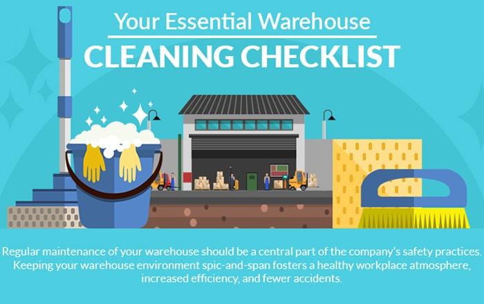 Your Essential Warehouse Cleaning Checklist  | Logistics Voices