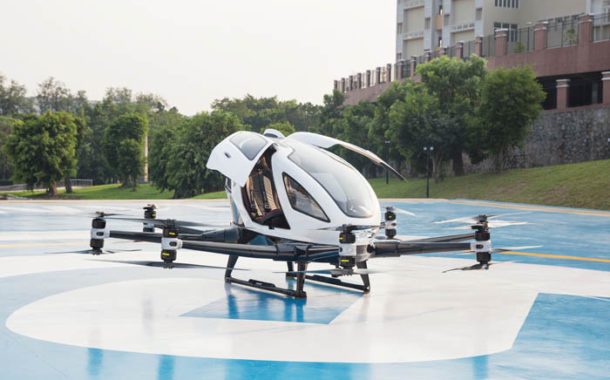 Urban Mobility: First Aerial Vehicle Prototypes For Aerospace Group FACC Transported.