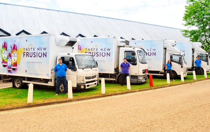Fresh Logistics Partner Major Experiential Marketing Firm TRO And Lucozade Ribena Suntory For The Third Year Running.