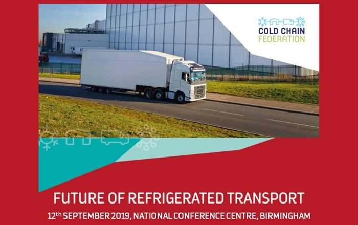 SCCG To Attend The Future of Refrigeration Transport Conference.