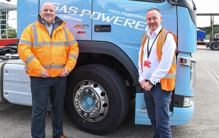 Pall-Ex Drivers Give It Some Gas With New Eco-Truck Trial.