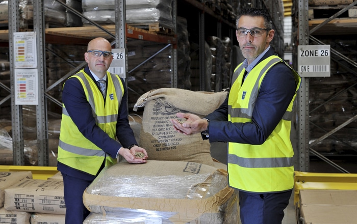 Port Of Tyne Strikes New Deal With Ringtons Coffee.