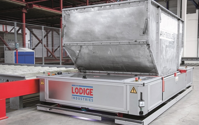 Lödige Industries Unveils Automated Guided Vehicle For Airfreight And Baggage ULDs At Inter Airport 2019.