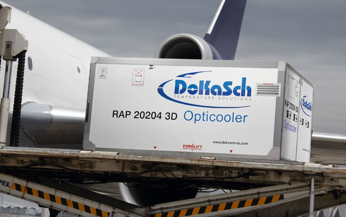 DoKaSch Receives Certificate For Their Pharma-Cooling Air Transport Solutions.
