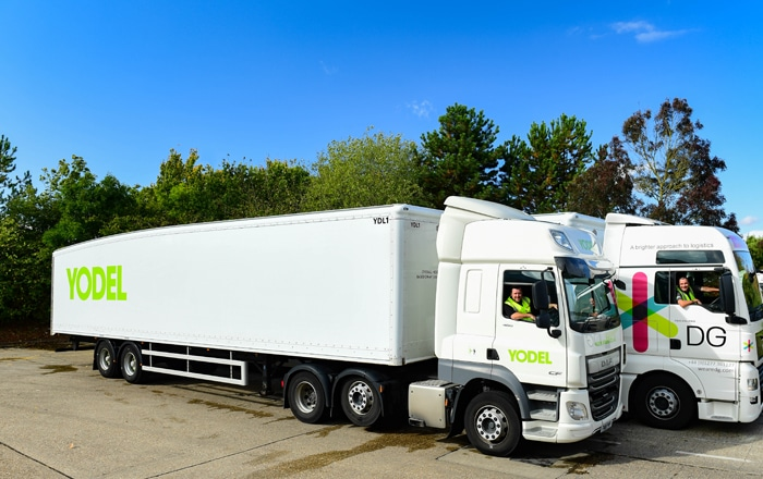 Yodel Launches New Streamlined Worldwide Delivery Service In Partnership With DG International.