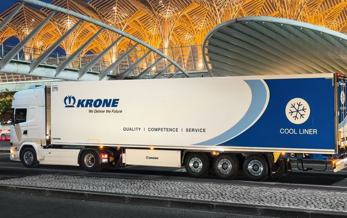 Krone 'Take 5' To Ireland's Prestigious Fleet Transport Awards.