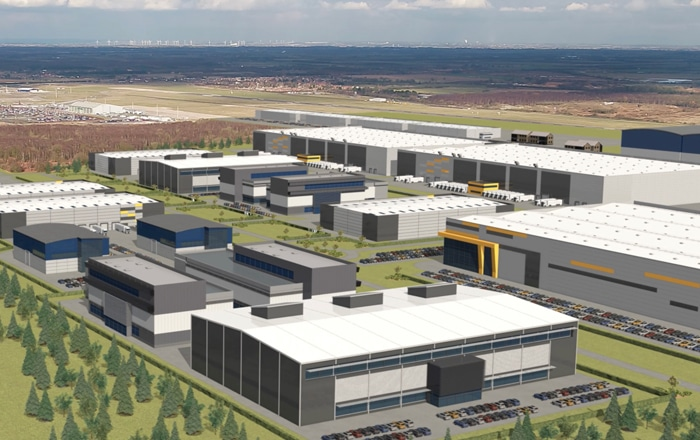 Advanced Manufacturing And Logistics Development Located At Doncaster Sheffield Airport To Create 4,300 jobs.