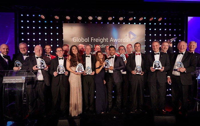 Ontruck Takes Home Award For Digital Transformation At The 2019 Global Freight Awards.