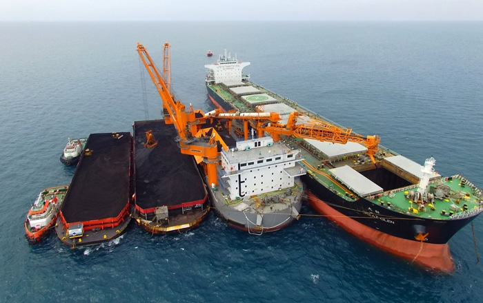 Rocktree Completes Feed For Bauxite Hills Floating Terminal.