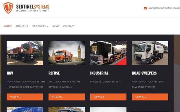 New Sentinel Website Helps Vehicle Operators Specify Best Safety Solutions.