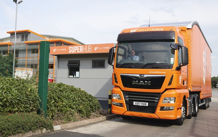 Sustained Growth Sees Express European Couriers Join Palletforce.