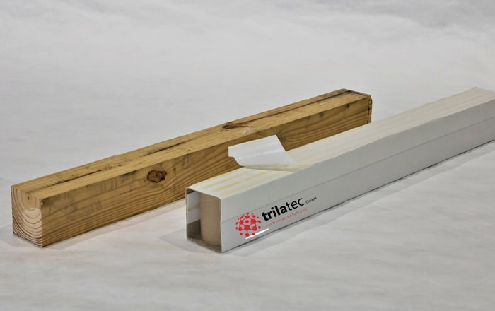 Eco-friendly Planks Made Of Recycled Paper Jettainer Is Exclusive Sales Partner For The Original Skids SquAIR-Timber.
