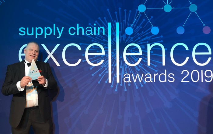 CHEP Wins Award For Transport Innovation At Supply Chain Excellence Awards.