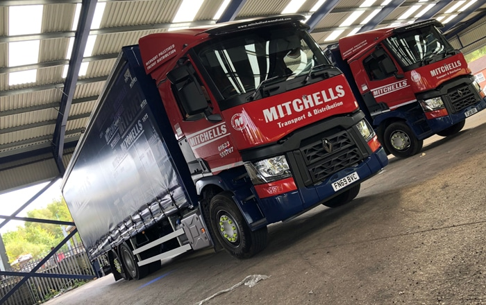 Mansfield Logistics Firm Motors On With £850K Fleet Investment.