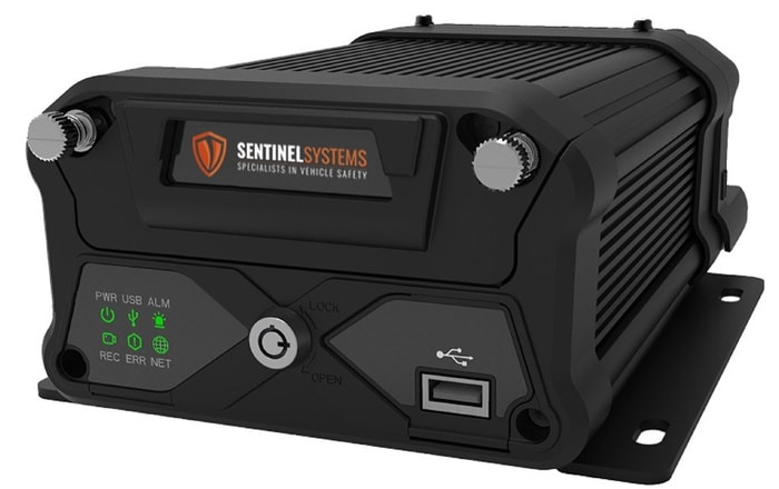 Sentinel Launches New 6 Channel Mobile DVR .