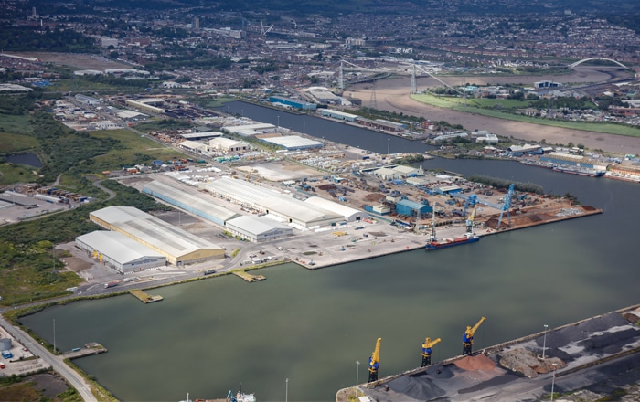 Work Begins On £2.5 Million Warehouse Investment At The Port Of Newport.