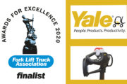 Yale Precision Control Tiller Head Selected As FLTA Awards 2020 Finalist In Two Categories.